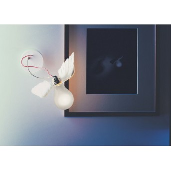 Ingo Maurer Applique LED Ottone, 1-Luce