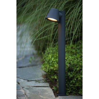 Lucide DINGO-LED Lampioncino Nero, 1-Luce