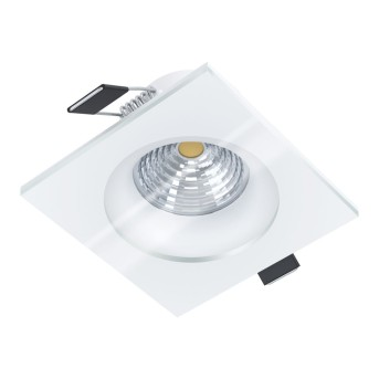 Eglo SALABATE Lampada da incasso LED Bianco, 1-Luce