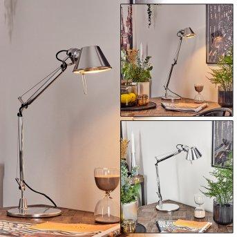 Artemide TOLOMEO MICRO Lampada da Tavolo Alluminio, 1-Luce