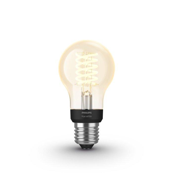 Philips Hue Led White Filament E27 7 Watt 2100 Kelvin 600 Lumen 8718699688820 Lampada It