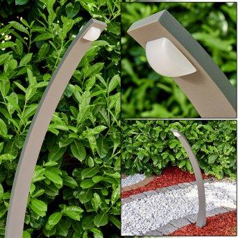 Lampioncino Segnapasso Telford LED Antracite, 1-Luce