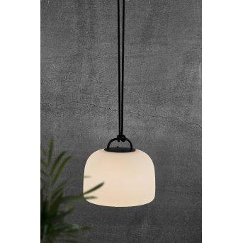 Nordlux KETTLE Lampadario a sospensione LED Bianco, 1-Luce