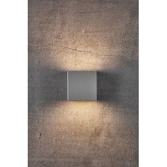 Nordlux TURN Applique da esterno LED Grigio, 1-Luce