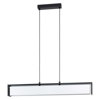 Eglo VALDELAGRANO Lampadario a sospensione LED Nero, 1-Luce, Cambia colore