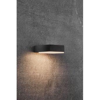 Nordlux PIANA Applique da esterno LED Nero, 1-Luce