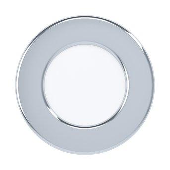 Eglo FUEVA Lampada da incasso LED Cromo, 1-Luce