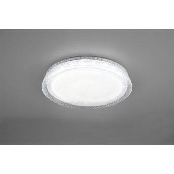 Reality Thea Plafoniera LED Bianco, 2-Luci