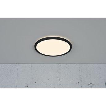 Nordlux OJA Plafoniera LED Nero, 1-Luce