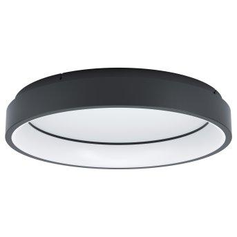 Eglo MARGHERA Plafoniera LED Nero, 1-Luce, Cambia colore