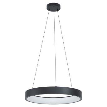 Eglo MARGHERA Lampadario a sospensione LED Nero, 1-Luce, Cambia colore