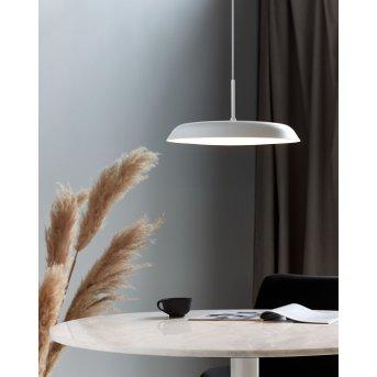 Nordlux PISO Lampada a Sospensione LED Bianco, 1-Luce
