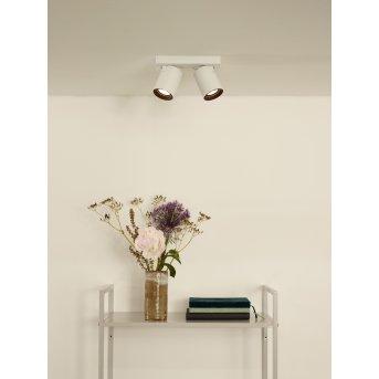 Lucide NIGEL Faretto da soffitto LED Bianco, 2-Luci
