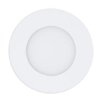 Eglo FUEVA-A Lampada da incasso LED Bianco, 1-Luce, Telecomando