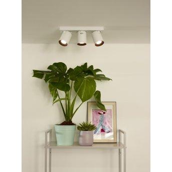 Lucide NIGEL Faretto da soffitto LED Bianco, 3-Luci