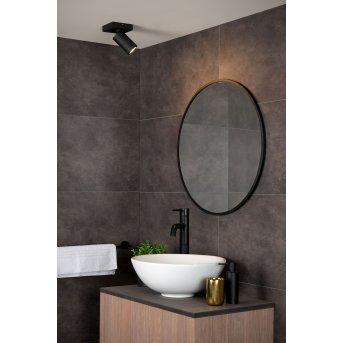 Lucide TAYLOR Faretto da soffitto LED Nero, 1-Luce