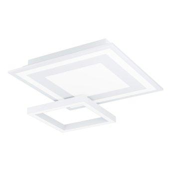 Eglo SAVATARILA Plafoniera LED Bianco, 1-Luce, Cambia colore