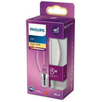 Philips  LED E14 15 Watt 2700 Kelvin 136 Lumen