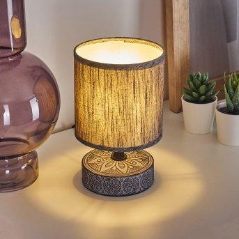 Kigombo Lampada da tavolo Nero, Grigio, 1-Luce