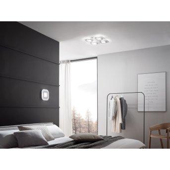 Grossmann AP Applique LED Grigio, Alluminio, 1-Luce