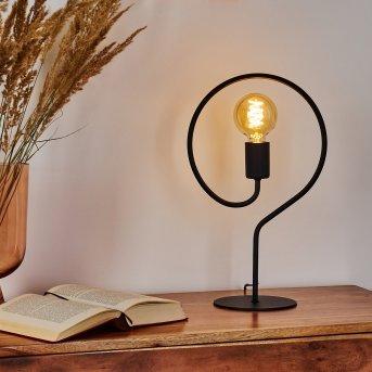 Mialo Lampada da tavolo Nero, 1-Luce