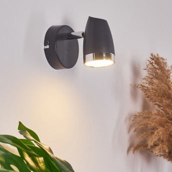 Idlewild Applique LED Nero, 1-Luce