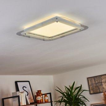 Ipres Plafoniera LED Bianco, 1-Luce