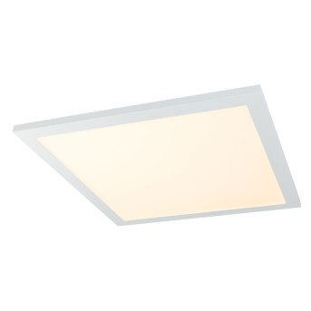 Globo ROSI Plafoniera LED Bianco, 1-Luce, Telecomando, Cambia colore