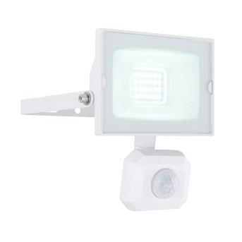 Globo HELGA Faretto da giardino LED Bianco, 1-Luce, Sensori di movimento