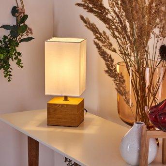 Geneva Lampada da tavolo Legno chiaro, 1-Luce