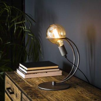 Ostuni Lampada da tavolo Argento, 1-Luce