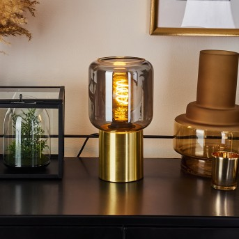 Keppoch Lampada da tavolo Oro, 1-Luce