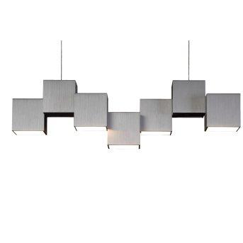 Grossmann ROCKS Plafoniera LED Alluminio, 5-Luci