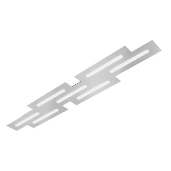 Grossmann FIS Plafoniera LED Alluminio, 7-Luci