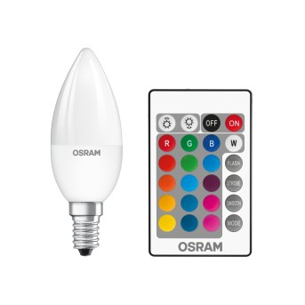 Osram LED STAR E14 RGBW 4,5 Watt