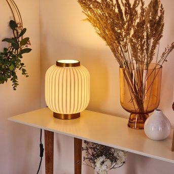 Dyce Lampada da tavolo Ottone, 1-Luce