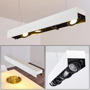Bacoor Lampada a Sospensione LED Nero, Bianco, 5-Luci