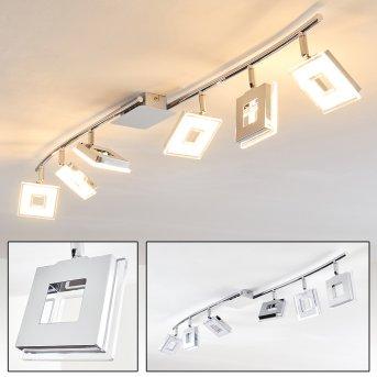 Krakau Faretto da soffitto LED Cromo, 6-Luci
