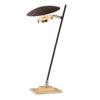 Wofi SALEM Lampada da Tavolo LED Oro, 1-Luce