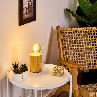 Castellar Lampada da tavolo Legno chiaro, 1-Luce