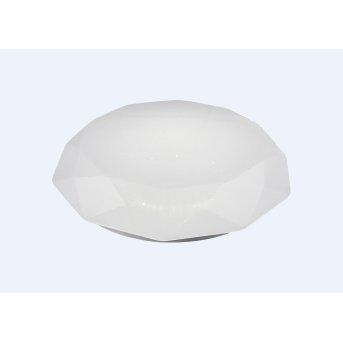 Mantra DIAMANTE SMART Plafoniera LED Bianco, 1-Luce, Telecomando