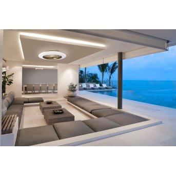 Mantra ALISIO ventilatore da soffitto LED Ottone, 1-Luce, Telecomando