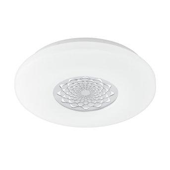 Eglo CAPASSO-C Plafoniera LED Bianco, 1-Luce, Cambia colore