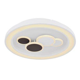 Globo NOLO Plafoniera LED Bianco, 1-Luce, Telecomando, Cambia colore