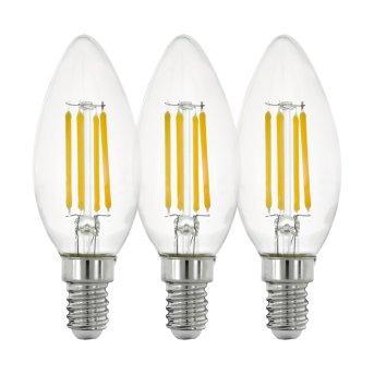 Eglo 3x LED E14 4 Watt 2700 Kelvin 470 Lumen
