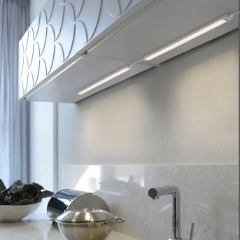 Paul Neuhaus AMON Illuminazione sottopensile LED Argento, 1-Luce, Sensori di movimento