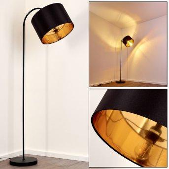 Pattburg Lampada da terra Nero, 1-Luce
