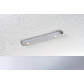 Bopp-Leuchten CLOSE Plafoniera LED Argento, 2-Luci