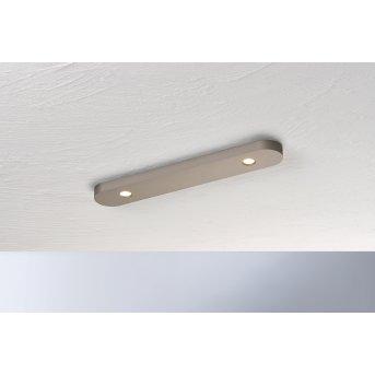 Bopp-Leuchten CLOSE Plafoniera LED Marrone, 2-Luci