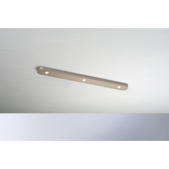 Bopp-Leuchten CLOSE Plafoniera LED Marrone, 3-Luci